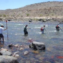 Aquatics Team, Baynes Hydro, Cunene River, 2009