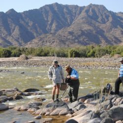 EWR Fish Team, Sendelingsdrif, Orange River, 2012