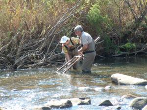 Johan Engelbrecht, Christa Thirion, Komati River, 2003