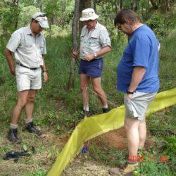 Warren McCleland, John Burrows , Denis Tweddle, Lumwana, Zambia, 2007
